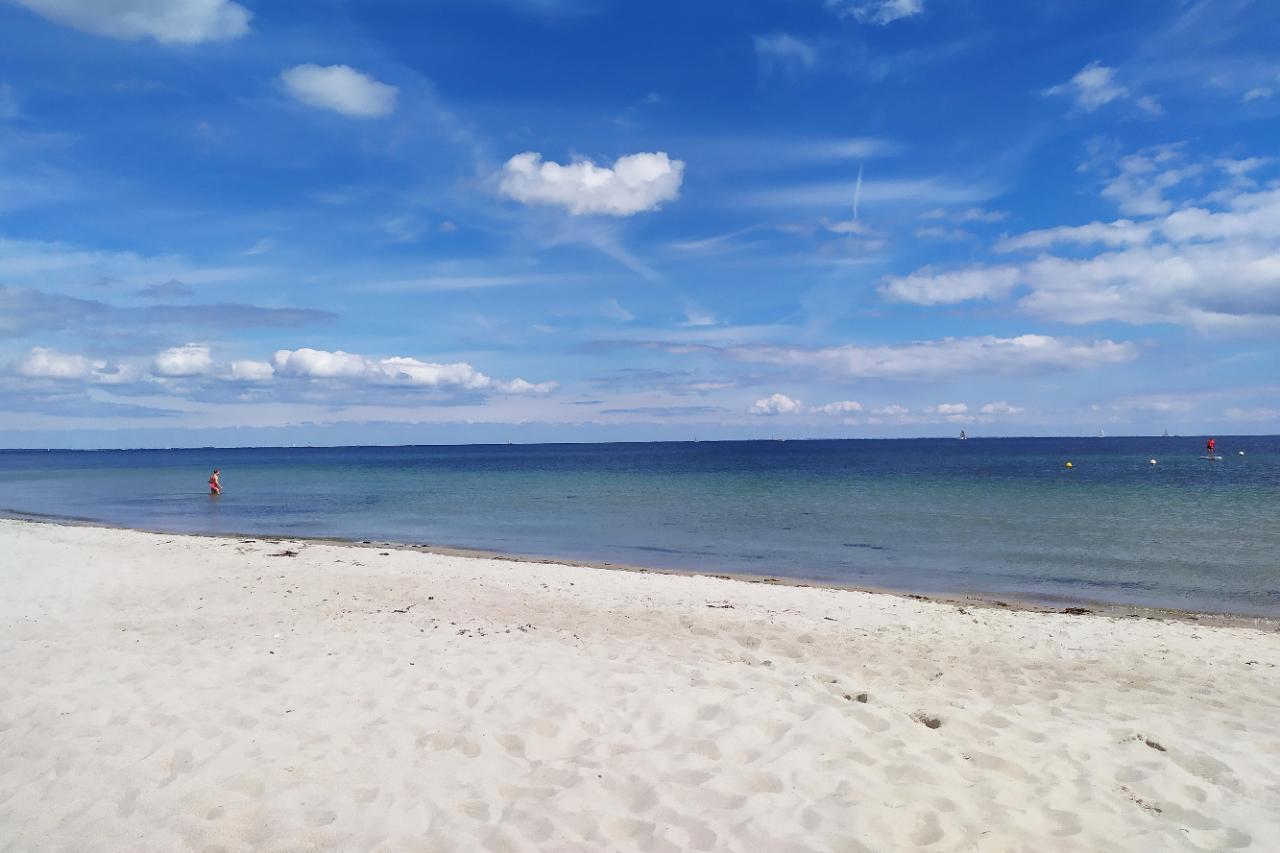 Strand bei Golsmaas im Sommer