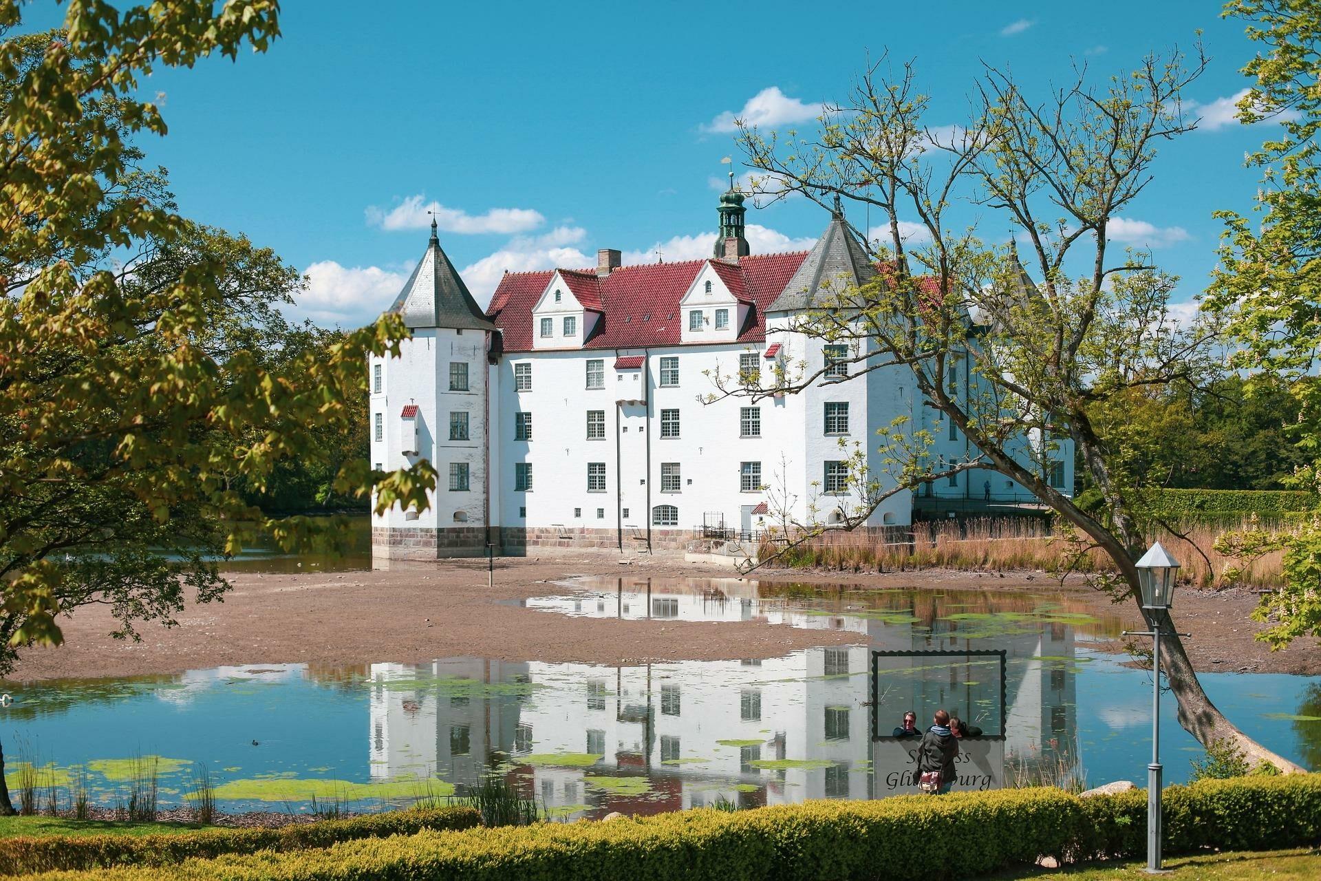 Wasserschloss in Glücksburg